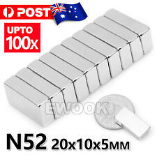 N52 Super Strong Magnets Block Rare Earth Cuboid Neodymium Super Strong Magnet