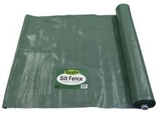 Siltfence 1980 Economy Soil Filtration Fabric Building Site Dirt 770mm x 50M