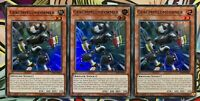 3x Gerümpelumformer LED6-DE024 SUPER RARE DEUTSCH 1.AUFLAGE PLAYSET NM Yu-Gi-Oh