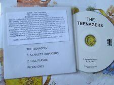 The Teenagers Scarlett Johansson Label; Merok ME 009P UK Promo CD Single
