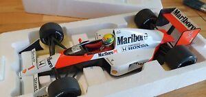 1/18 McLaren MARLBORO Honda MP4-5 1989 Ayrton Senna Minichamps 540891801