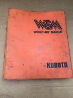 Kubota Tractor B8200, Front Loader BF300 Workshop Service/repair Oem Manual.