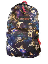 Jansport Cat Galaxy Backpack Space Cats cosmic Galaxy Kitty purple pink