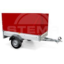 STEMA Hochplane Plane für Anhänger F FT 750 DBL 850 opti AN rot 0,80m 80cm