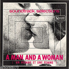 FRANCIS LAI  A Man And A Woman 1960s Mono EP