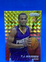 2014-15 Panini Prizm TJ WARREN #263 Rookie Red White Yellow Parallel RC Card