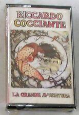 RICCARDO COCCIANTE - LA GRANDE AVVENTURA - Musicassetta Sigillata MC K7
