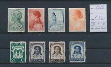 LM83887 Suriname 1938 portraits folklore art fine lot MNH cv 33 EUR