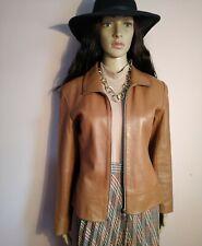 Ladies leather jacket size 12 Uk