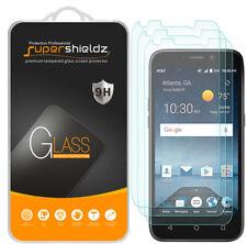 3X Supershieldz ZTE Maven 3 Tempered Glass Screen Protector Saver