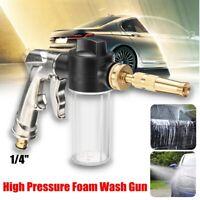 High Pressure Spray Nozzle Washer Foam Water Gun Car Cleaning Garden HOT