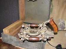 Antique Stanley No.55 Plow & Bead Combination Wood Plane with 4 Blade packs
