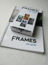 Frames Card Deck and User Guide bundle, modern tarot for computers, technology