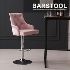 Kitchen Bar Stools Swivel Dining Chairs Velvet Counter Height Adjustable Stool