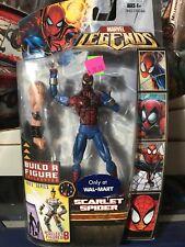 Marvel Legends Ares BAF SCARLET SPIDER Walmart Exclusive 2008 New NIB