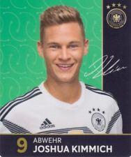 Rewe DFB Sammelkarten Fu�Ÿball WM 2018 Russia Nr. 9 Joshua Kimmich Bild NEUWARE
