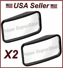 2 1/4 INCH NEW SIDE AUXILIARY BLIND SPOT WIDE VIEW MIRROR X TWO SMALL REARVIEW