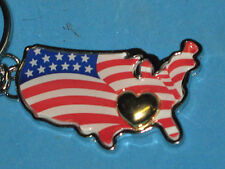 HEART OF AMERICA  KEY CHAIN- AVON-2006-NEW IN PACKAGE