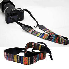 VTG Soft Camera Shoulder Neck Belt Strap For SLR DSLR Nikon Canon Sony Panasonic