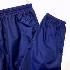 Nike Warm Up Pants Vtg 90s White Tag Windbreaker Nylon Joggers Track Mens Large
