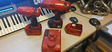 Snap-On Impact Gun 18v 1/2 and 3/8 drive with boots, x2 batterys & charger!