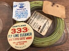 Vintage Cortland 333 Floating Fly Line In Original Opened Box (Hd28)