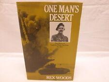 One Man's Desert Story of Captain Philip Gardner VC MC 1986 by Rex Woods HC DJ