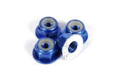New Axial Score Blue Wheel Nut M4 Serrated (4) AX1046