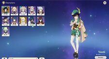 Genshin Impact Level 60 Venti AR 32 end game content