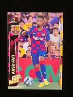 2019-20 Panini MehaCracks Ansu Fati #72 La Liga MGK RC ROOKIE CARD BARCELONA 🌟