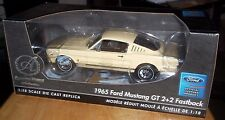 Ertl Authentics American Muscle 1965 Ford Mustang GT 2+2 Fastback