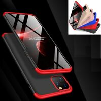 360 Shockproof Hard Case Cover + Tempered Glass For iPhone 11 iPhone 11 pro Max
