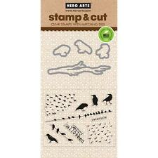 Hero Arts Stamp & Cuts - THE BIRDS - Stamp and die set - halloween, birds