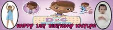 Large Doc McStuffins Themed Birthday Party Banner With Photo - just ask?
