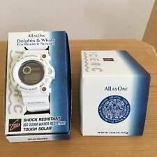 CASIO G-SHOCK FROGMAN ICERC 2006 DOLPHIN/ WHALE GW-206k-7JR WHITE EDT