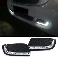 Lower Grille Insert Fit Brabus Style LED Daytime Running Lights For 08-12 Smart