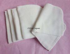 5 x 100% Cotone Mussola Panni in Microfibra Detergente Viso/Super Morbido PANNI faccia
