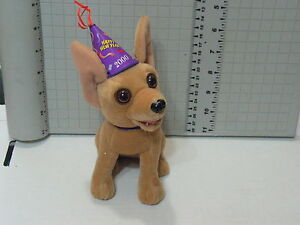 Talking Chihuahua Plush Suffed Toy Taco Bell Kids Meal , (**)