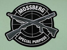 Mossberg Firearms Special Purpose Vinyl Sticker Decal Shotgun Police Gun NEW