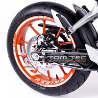 Felgenaufkleber Dekor KTM Duke RC 125 200 250 390 Wheel Sticker- TOMTEC-Racing®