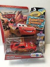 New Disney Pixar Cars Dirt Track Lightning McQueen Toys R Us Exclusive