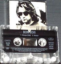 BON JOVI ALWAYS CASSETTE SINGLE 2TRACK Mercury 1994 Power Ballad Soft Rock