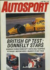 Autosport July 6th 1989 * Donington F3 & Welsh Rally *