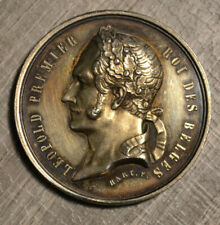 Unknown Leopold I zilver medaille 1852