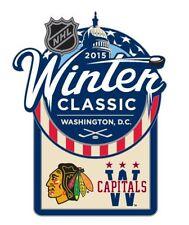 Official NHL 2015 Winter Classic Pin Chicago Blackhawks vs Washington Capitals