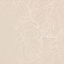 Glänzende Tapeten mit Blatt fürs Wohnzimmer