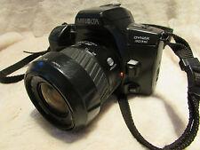 Minolta Dynax 303si Film SLR Caméra, AF Lens 35 80 mm idéal étudiant Caméra