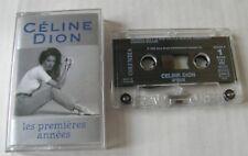 CELINE DION (CASSETTE AUDIO) LES PREMIERES ANNEES