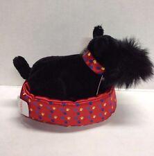 Gund Baxter Plush Scottie Dog Satin Bed New [Tiny Flaw] Scottish Terrier Puppy