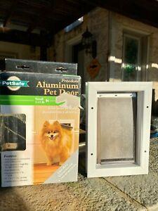 PetSafe Freedom Aluminum Pet Door Small Pet Insulated Flap Closing Panel NIB